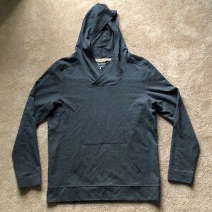 EUC Pendleton Men's Grey Hooded Sweatshirt